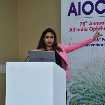 Annual Conference of Ophthalmologists at Gurgaon