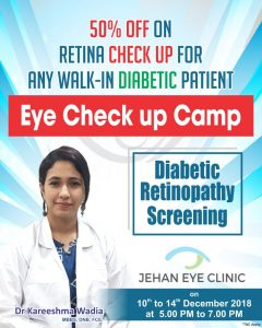 Diabetic Retinopathy Eye Camp